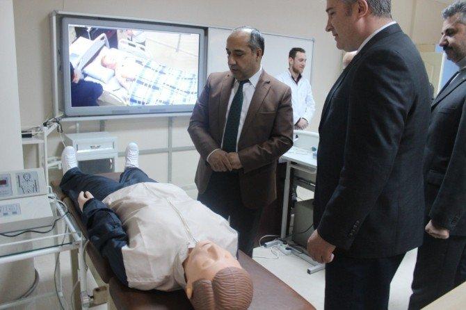 MŞÜ Hemşirelik Bölümü Simülasyon Cihazlarına Kavuştu