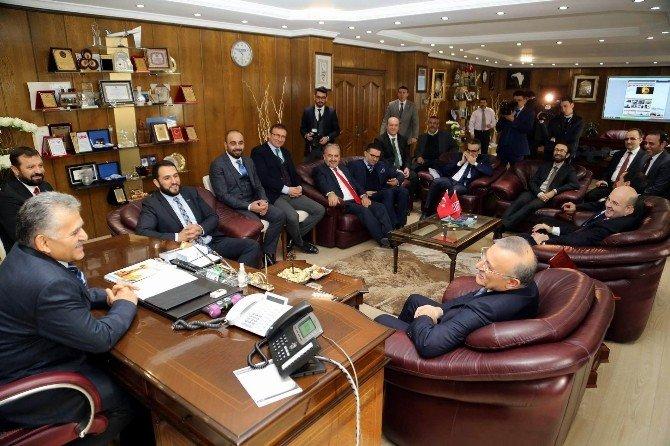 MÜSİAD Genel Merkez Yönetimi Melikgazi'de