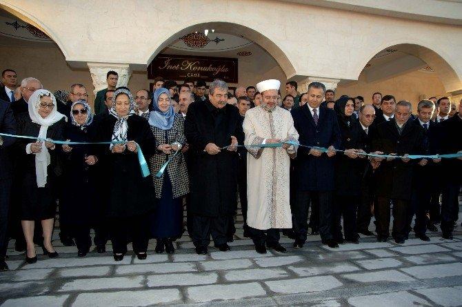 İnci Konukoğlu Camii İbadete Açıldı