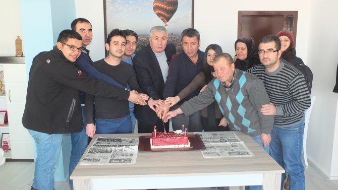 Nevşehir Kent Haber Gazetesi 12 yaşında