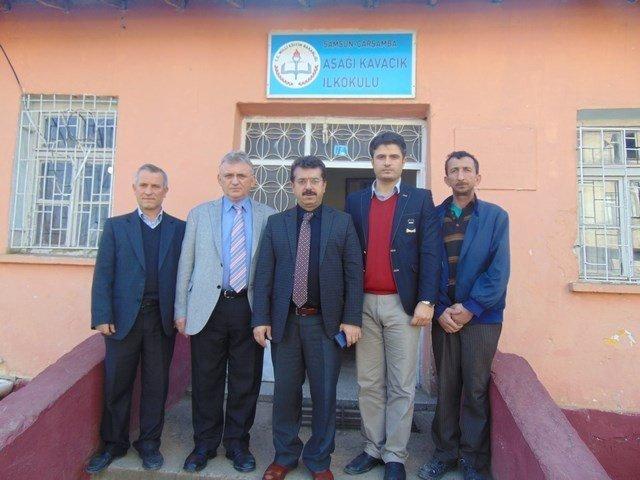 Müdür Özdemir'den Okul Ziyaretleri