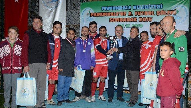 Pamukkale Futbol Turnuvası'nda Şampiyon Develispor Oldu