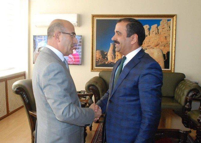 Genel Başkan Memiş'ten, Vali Mahmut Demirtaş'a Ziyaret