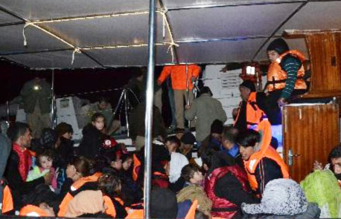 Kaçak göçmen geçişlerinde yüzde 850'lik artış