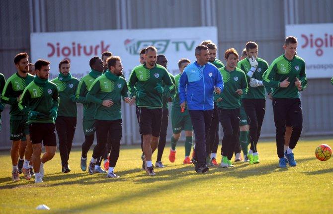 Bursaspor, Mersin İdmanyurdu hazırlıklarına başladı