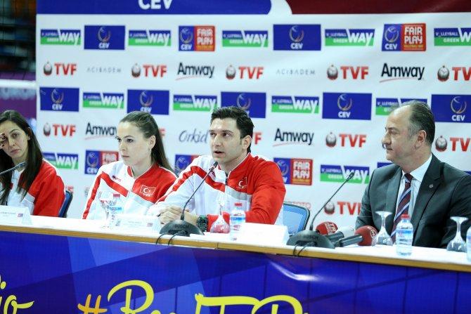 Filenin Sultanları olimpiyat elemeleri için Ankara'da