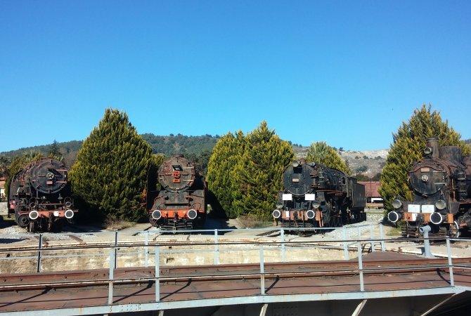 Türkiye'nin tek, Avrupa'nın sayılı açıkhava lokomotif müzesi 1866'ya dayanıyor