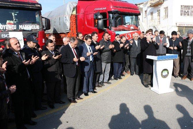 Yahyalı'dan Bayır-bucak Türkmenlerine Yardım Kampanyası