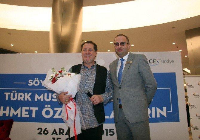 Ahmet Özhan Park Afyon AVM'de Sevenleri İle Buluştu