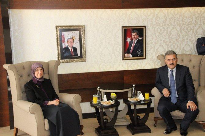 Bakan Ramazanoğlu Aydın'da
