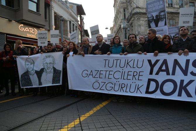Tutuklu gazeteciler için 30 adım