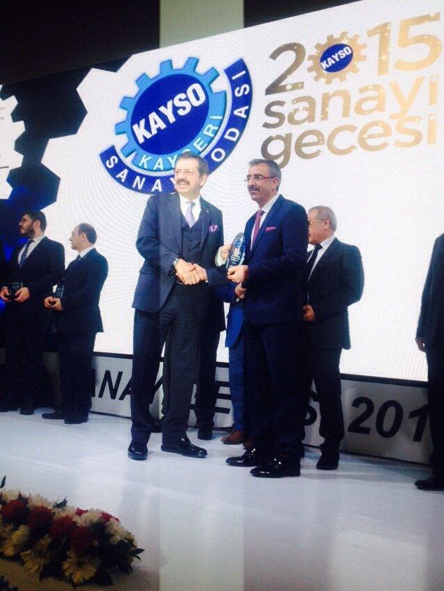 Boydak Holding'in 9 şirketi 18 ödül birden aldı