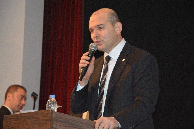 Bakan Soylu Trabzon'da