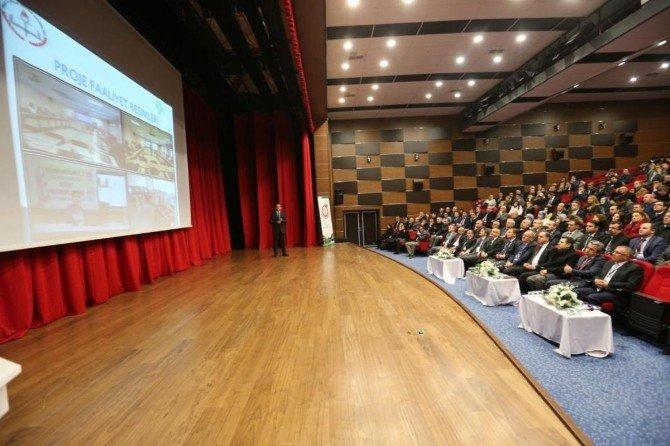 4 İlin Eğitim Projeleri İyi Örnekler Çalıştayında Sunuldu