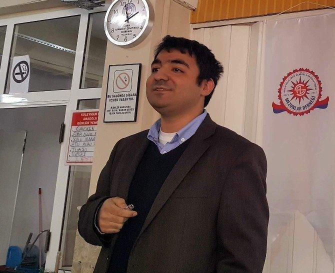 Bilim Adamı Dr. Özdemirhan Serçin, Mezun Olduğu Lisede Öğrencilerle Buluştu