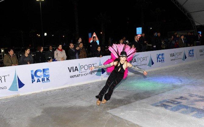İstanbul'da Muhteşem Buz Pateni Show'u