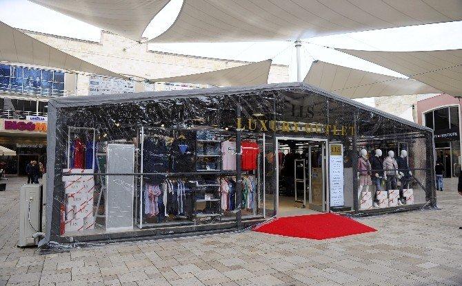 Dünyaca Ünlü Markalar, Büyük İndirimlerle Lls Luxury Outlet Çadırında