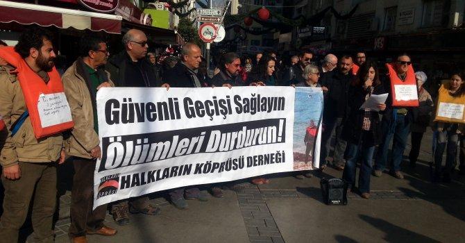 Halkların Köprüsü Derneği'nden mülteci ölümlerini durdurma çağrısı