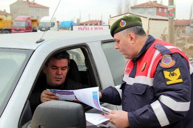 Jandarmadan Sürücülere Kış Uyarıları