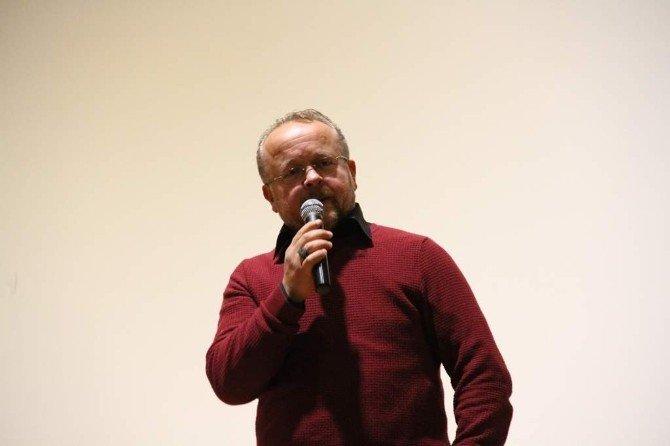 Gazeteci-yazar Harun Çelik Ürgüp'te Öğretmenlerle Buluştu