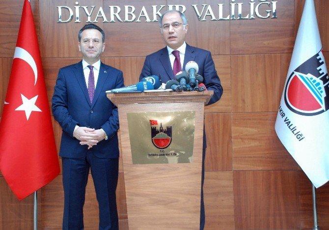 Bakan Ala Diyarbakır'da
