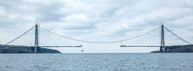 Asya ile Avrupa'nın yeniden birleşmesine 391 metre kaldı