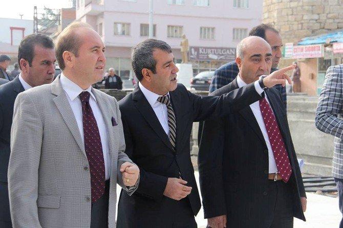 Mersin Vali Yardımcısı Ali Katırcı, Mut'da Çalışmaları Yerinde İnceledi
