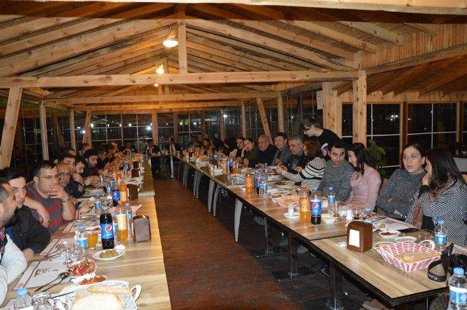 Niksar'da 38 Yıllık Bekçiye Veda Yemeği