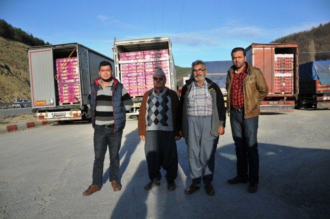 Rusya'nın meyve ambargosunu ötelemesi TIR yoğunluğuna neden oldu