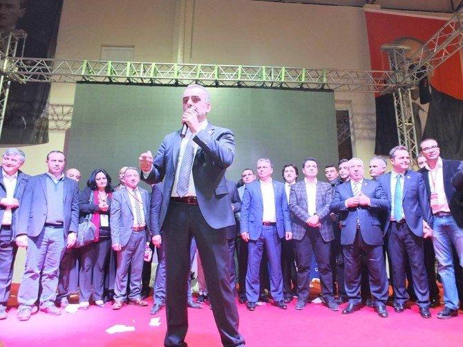 CHP Antalya'da İl Başkanı Yeniden Semih Esen Oldu