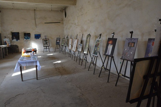 Tarihi Cezaevinde Sergi Açılışı