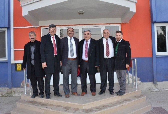 Sivas Ticaret Borsası Yöneticileri Üyelerini Ziyaret Etti.