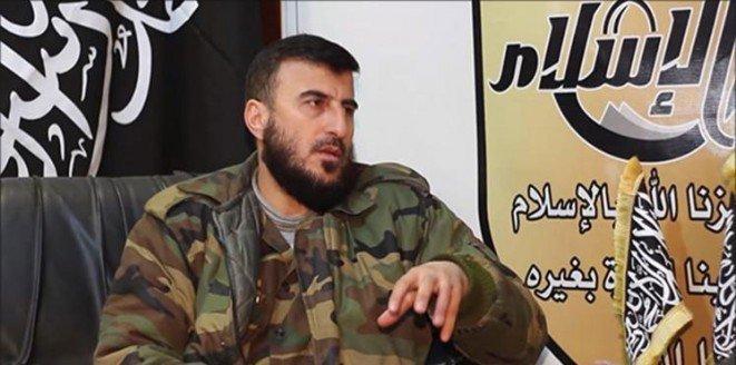 Rus bombardımanında ölen muhalif komutan Alluş'un yerine atama yapıldı