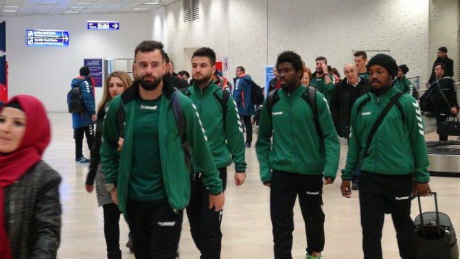 Konyaspor, Beşiktaş maçı için İstanbul'da