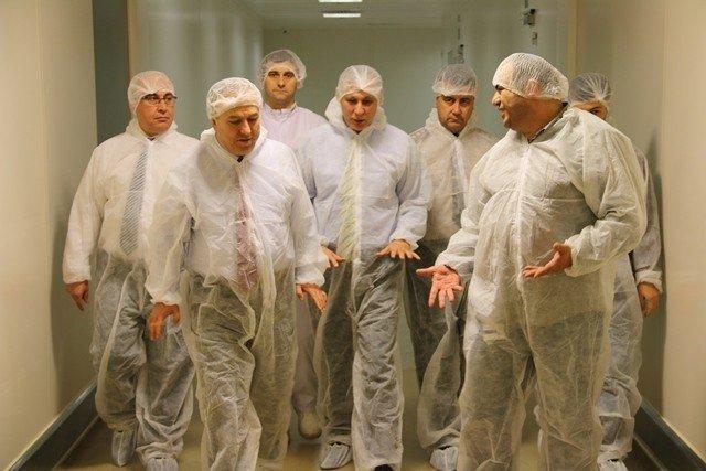 Vali Ali Fidan Fabrikaları Ziyaret Ediyor