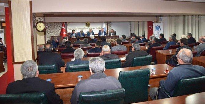 Başkan Çerçi Muhtarları Ağırladı