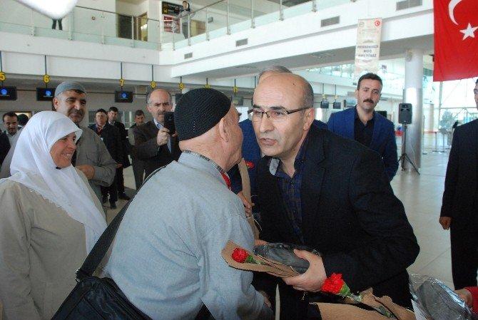 Adıyaman Havaalanı'ndan İlk Uluslararası Uçuş Medine'ye Oldu