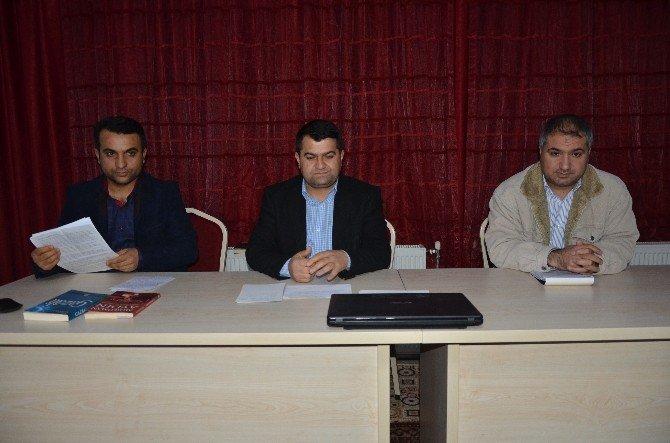 """""""İmam Gazali'nin Şahsiyeti Ve Eğitim Anlayışı"""" Konulu Panel Düzenlendi"""