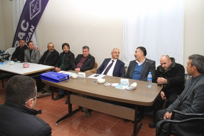 Başkan Başsoy'un STK Toplantıları Devam Ediyor