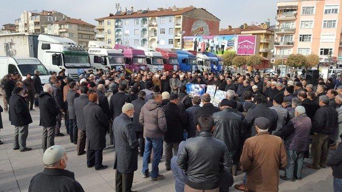 Karaman STK Platformundan Bayır-bucak Türkmenlerine Yardım