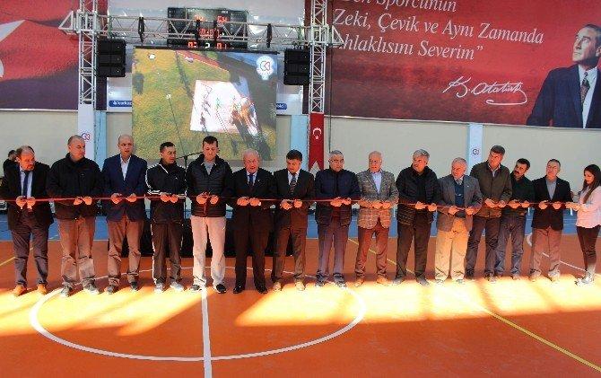 Çerkezköy'de Spor Kompleksi, Piknik Alanı Ve Park Açılışı