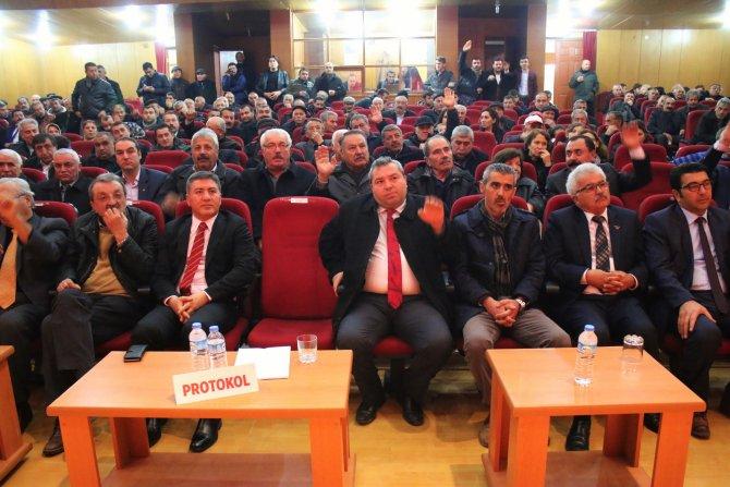 Kırşehir CHP'de Yılmaz Zengin güven tazeledi