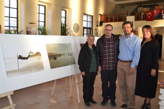 Ayvalık'ta Fotoğraf Sanatçısı Metin Uçak'tan Şefkatli Yardım