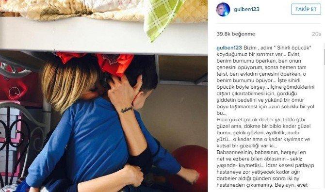 Gülben Ergen, Üvey Anne Şiddetine Maruz Kalan Çocukları Ziyaret Etti