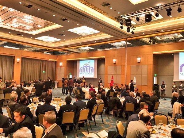 Gümrük Ve Ticaret Bakanı Tüfenkci Malatya'da Sanayici Ve İş Adamları İle Bir Araya Geldi