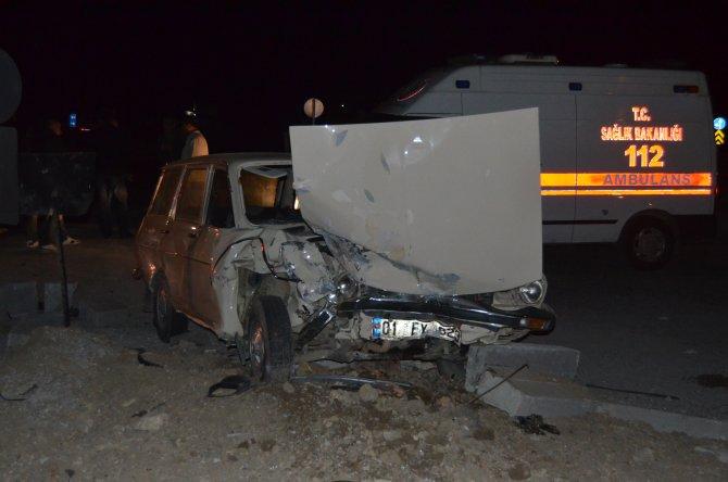 İki kişinin öldüğü kavşakta yeni kaza: Biri çocuk 4 yaralı
