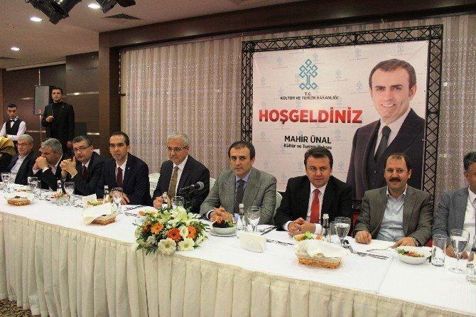 """Bakan Ünal: """"HDP Eylemlerin Örtücüsü, Perdecisi"""""""
