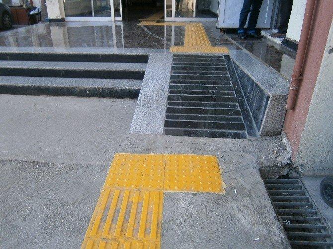 Emniyet Binalarına Engelliler İçin Düzenleme