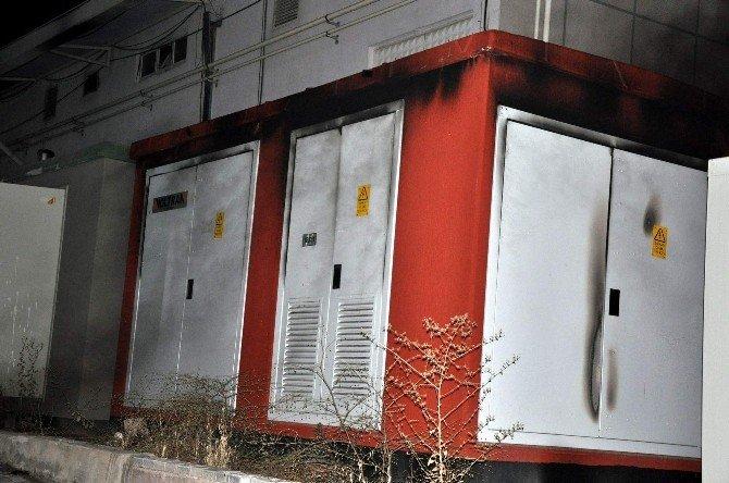 Nevşehir'de Trafo Yandı, Şehrin Yarısının Elektriği Kesildi