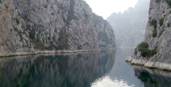 Büyükşehir bürokratları kanyonu gezdi